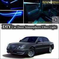 amanti opirus - interior Ambient Light Tuning Atmosphere Fiber Optic Band Lights For KIA Amanti Opirus Door panel illumination Refit