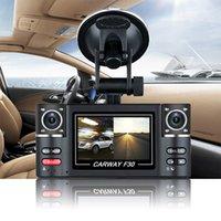 Precio de Cámaras de lentes de porcelana-Dash cámara dual de la lente del coche del vehículo 1080P HD DVR de la leva 8 de la visión nocturna 2.7