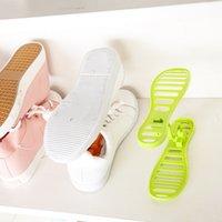 Wholesale Multifunction Practical Plastic Shoe Hanger Shoe Rack Shoe Holder Organizer Home Storage Colors