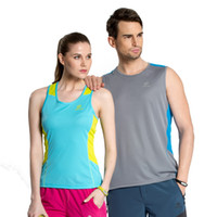 Wholesale Hot Camping amp Hiking Quick Dry Summer Women Vest Sport Men Sleeveless Fitness Gym Femme Outdoor Vest Fishing Clothing
