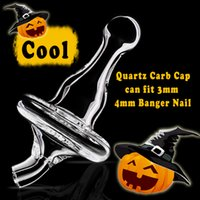 Wholesale 2016 COOL New Quartz Carb Cap Witch Girl Hat Cap for Most mm mm mm and mm Quartz Banger Nail