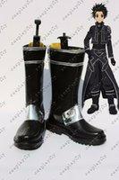 alo sale - HOT SALE New Sword Art Online ALO Kirito Kazuto Kirigaya Cosplay cosplay Shoes any size