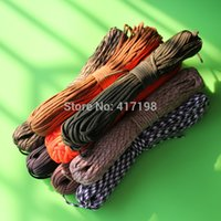 Wholesale Paracord Parachute Rope Core Strand FT For Climbing Camping Buckles Bracelet