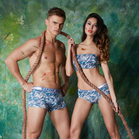active marines - The new couple modal underwear Men s and women s Marine gray couples Comfortable breathable modal underwear