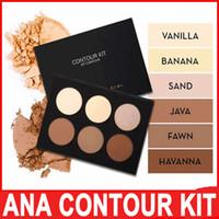 banana wear - Ana CONTOUR KIT Bronzers Kit Premiere Contour Highlight Palette Comestic Makeup Face ABH Java Vanilla Fawn Havana Banana Sand