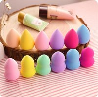Wholesale New Makeup Foundation Sponge Blender Blending Cosmetic Puff Flawless Powder Smooth Beauty Make Up Tool