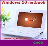 Wholesale 10 inch mini Student Netbook Quad core Windows operation system GHz GB GB Cheap notebook inch