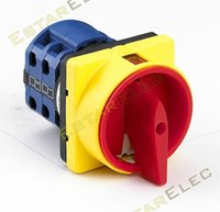 Wholesale V A Padlock Rotary Switch OFF ON position Poles terminals main switch emergency stop