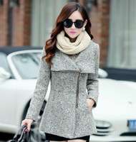 Wholesale Woolen Jackets Coats New Autumn Winter Women s Temperament Female Casual Clothing Fashion Women Slim Jackets Coats