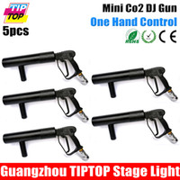 Wholesale Freeshipping TIPTOP Mini Handhold Co2 Dj Gun Meter Gas Hose Female Male Quick Connector with Brass Fitting Small Co Gun