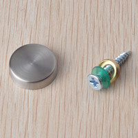 Wholesale stainless steel advertising nail acrylic mirror nail screw bolt glass decoration nail DIY handmade hardware part