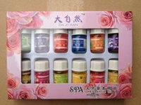 Wholesale 12pcs Brand New Essential Oils Pack for Aromatherapy Spa Bath Massage Skin Care Lavender Oil With Kinds of Fragrance