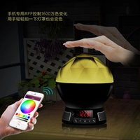 alarm control center - MultiColors Wireless Blutooth Speaker Support Music player TF Card Line in FM Radio handsfre calling alarm clock app control ios android