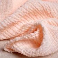 al por mayor ropa de hilo-Envío libre Algodón del algodón del filtro del doble del paño del bebé de los pañales ropa de la ropa de la ropa categoría Una tela de la gasa del algodón