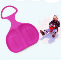 Wholesale 5 Colors Adult Children Snow Board Grass Skiing Snowboard Easy Ski Sled Skiing Sleigh for Winter Outdoor Sport