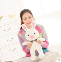 animal cuddly toys - cm special cute soft anime pig rabbit cuddly sleep plush animal doll hold pillow stuffed toy birthday gift