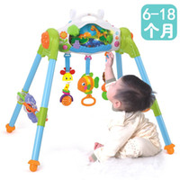 Wholesale Infant fitness rack device for the game frame sound control baby exercise frame newborn children music years old