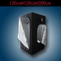 Wholesale by DHL PC CM x120CM x200CM Hydroponic Grow Tent Reflective Mylar Window Cabinet Hut