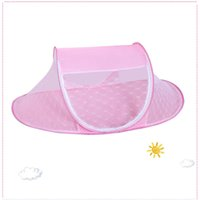 Wholesale Hot Rio Olympics Mosquito Net and Crib Netting for Little Baby with Blue Pink Color Polyester with High Quality
