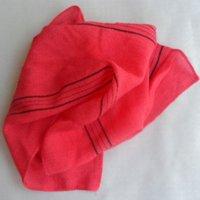 Wholesale italy Japan exfoliating shower towel body scrub cloth magic peeling towel long back wash cloth towel