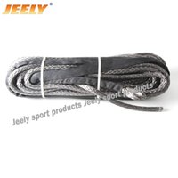 atv winch cables - MM M Strand UHMWPE synthetic winch cable for atv winch atv winch rope for offroad line With Thimble