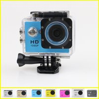 Wholesale Gopro Waterproof Sports Camera SJ4000 SJ5000 plus Style A9 HD Action Camera Diving P M quot View Mini DV digital Camcorders