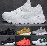 Wholesale With box Running Shoes Air Huarache For Men and Women Sneakers Zapatillas Deportivas Sport Huaraches Shoes Mens Trainers Size