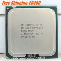 Wholesale Original intel cpu Core Duo E8400 Processor Ghz M MHz Dual Core Socket tested100 working