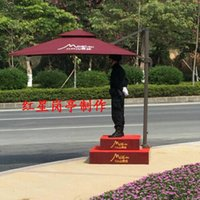 stainless steel guard post - Site security guard post umbrellas outdoor umbrella booth stainless steel Security Platform