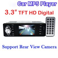 Wholesale 3 Inch Car MP5 Player Rear View Camera HD Stereo V FM Radio V Charger MP3MP4 Audio Video USB SD AUX DIN