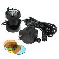 Wholesale 1Pcs V LED Ultrasonic Mist Maker For Fountain Underwater Spot Aquarium Light