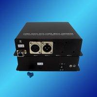 balanced audio converter - 1port Forward Balanced Audio port Reversed Balanced Audio over Fiber Transceiver XLR Connector Bidirectional Balanced Audio Transceiver
