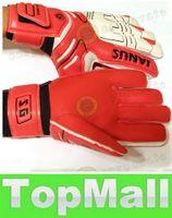 adult football camp - LAI Professional Adult Football Goalkeeper Gloves Men Latex Goalie Soccer Goalie Gloves