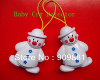 baby monitor receiver - 1 set Receiver And Transmitter Lovely Snowman Wireless Baby Cry Detector Monitor Watcher Alarm