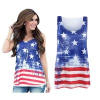 Wholesale summer women clothing tops tees tanks with size S M L XL tshirt Cowboy star printing T shirt woman apparel clothes lady sleeveless tanks
