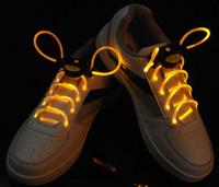 Wholesale Hot Sale LED Lighter Shoelace Fashion LED Flashing shoe laces Fiber Optic Shoelace Luminous Shoe Laces Light Up Shoes lace L1DBCD