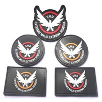 airsoft morale patches - 2016 Game Airsoft Cosplay PVC Patch The Division SHD Wings Out Badge Morale Military Armband Tactical Rubber Patches