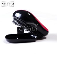 Wholesale Cute Size Colors Available Compact Styler Tangle Free Hair Brush Cheap Hair Salon Combs