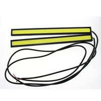 Wholesale Ultra Bright W cm white iceblue Daytime Running light Waterproof COB Day time Lights LED Car DRL Driving lamp