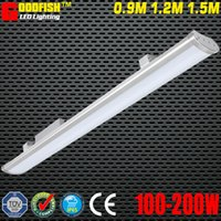 bay swimming - 5FT mm W High Bay Light IP65 Waterproof Industrial Tube led linear Low bay light for warehouse swimming pool supermarket