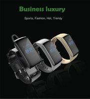 Wholesale DF22 Smart Bracelet Bluetooth Smart Wristbands Wrist Watches Waterproof Passometer Sleep Tracker Function For Iphone Samsung LG Huawei