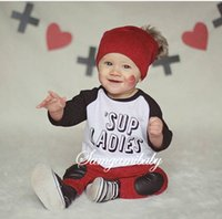 baby sweater sets - kids boys letters clothes baby pieces clothing toddler autumn sets children casual long sleeve sweater pants suit