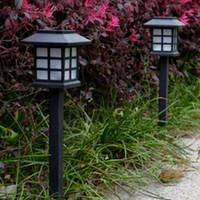 Wholesale 2 Solar Power Lamp LED Light Yard Lawn Light Party Path Outdoor Solar Light Garden Lamp