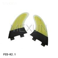 Wholesale Trhoda FCS K2 surfboard fins with fiberglass honey comb material set