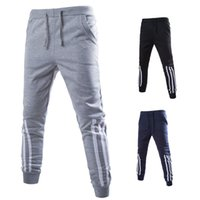 Cheap Solid Color Men Pants Trousers Skinny Low Waist Jogger Fashion Print Men Pants for Men with Lace Up