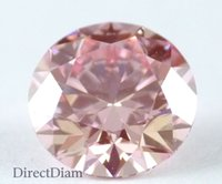 Wholesale Fancy Intense Pink loose Natural diamond ct VS1 Round cut GIA certified
