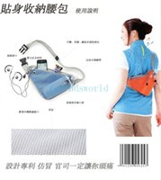 Wholesale Travel Pouch package personal phone pockets Quadra Hydro Belt Bag Water Bottle Holder Drinks sport Running Jogging Cycling