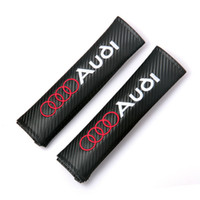 Wholesale Pair Car Seat Belt Cover Shoulder Pads For VW Volkswagen Ford Hyundai Peugeot Opel Seat MAZDA TOYOTA BMW Audi Atuo Accessories