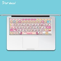 Wholesale The cat Laptop Skin Decals Keyboard Skin Cover Decal Sticker Protector for Macbook retina air13