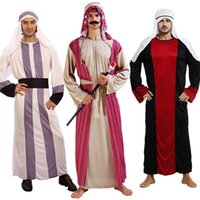 arab men dress - Men Arab Prince King Clothes Party Fancy Dress Cosplay Costume New